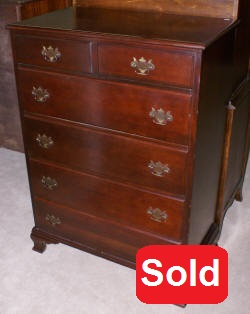 antique mahogany chest