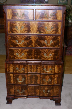 Antique Chest Of Drawers Mahogany Chest And Highboys