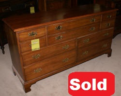 solid black wild cherry Henkel Harris dresser