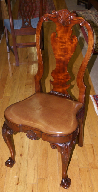 Kindel Furniture Philadelphia Queen Anne side chair