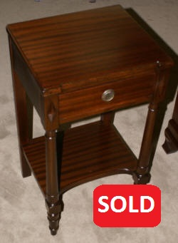 Regency mahogany night stand