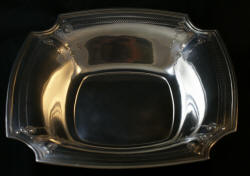 Sterling silver Adams decorated bowl