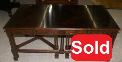 3 piece Jonathan Charles nesting tables