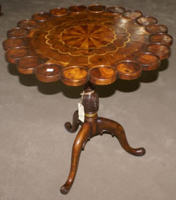 Jonathan Charles inlaid tea table